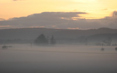 Mist over the Lyth Valley